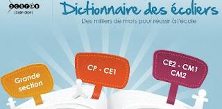 Dictionnaire des écoliers