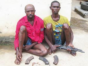 armed robbery gang festac lagos
