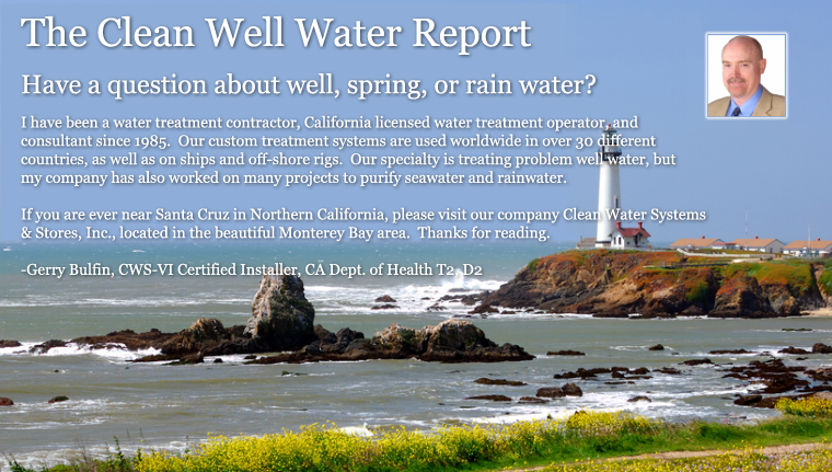 Clean Well Water Report