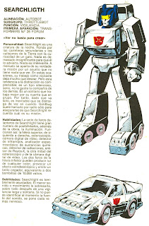 Searchlight (ficha transformers)