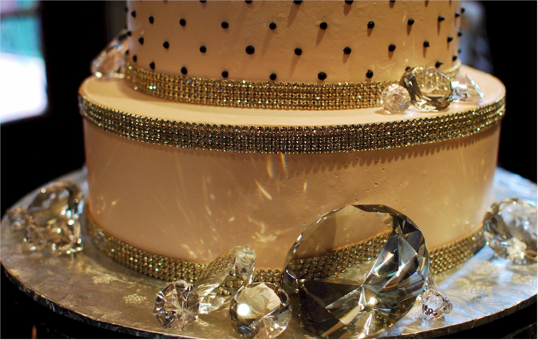 Cup a Dee Cakes Blog Super Bling Diamond Wedding Cake