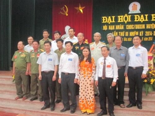 Hiệp Hòa: Đại hội đại biểu Hội nạn nhân CĐDC/Dioxin lần thứ 3