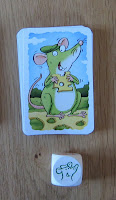 Wollmilchsau - The Mouse card & dice