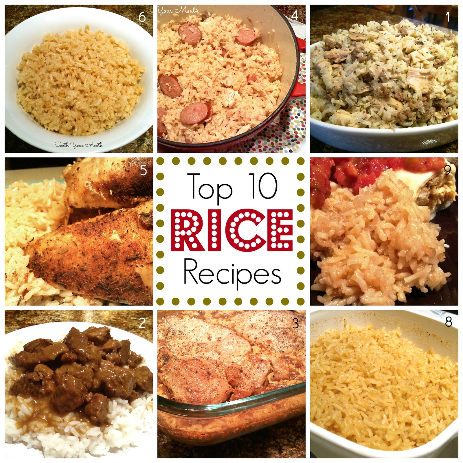 Mexican pork and rice recipes