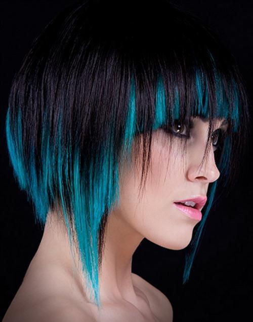 pelo corto y color