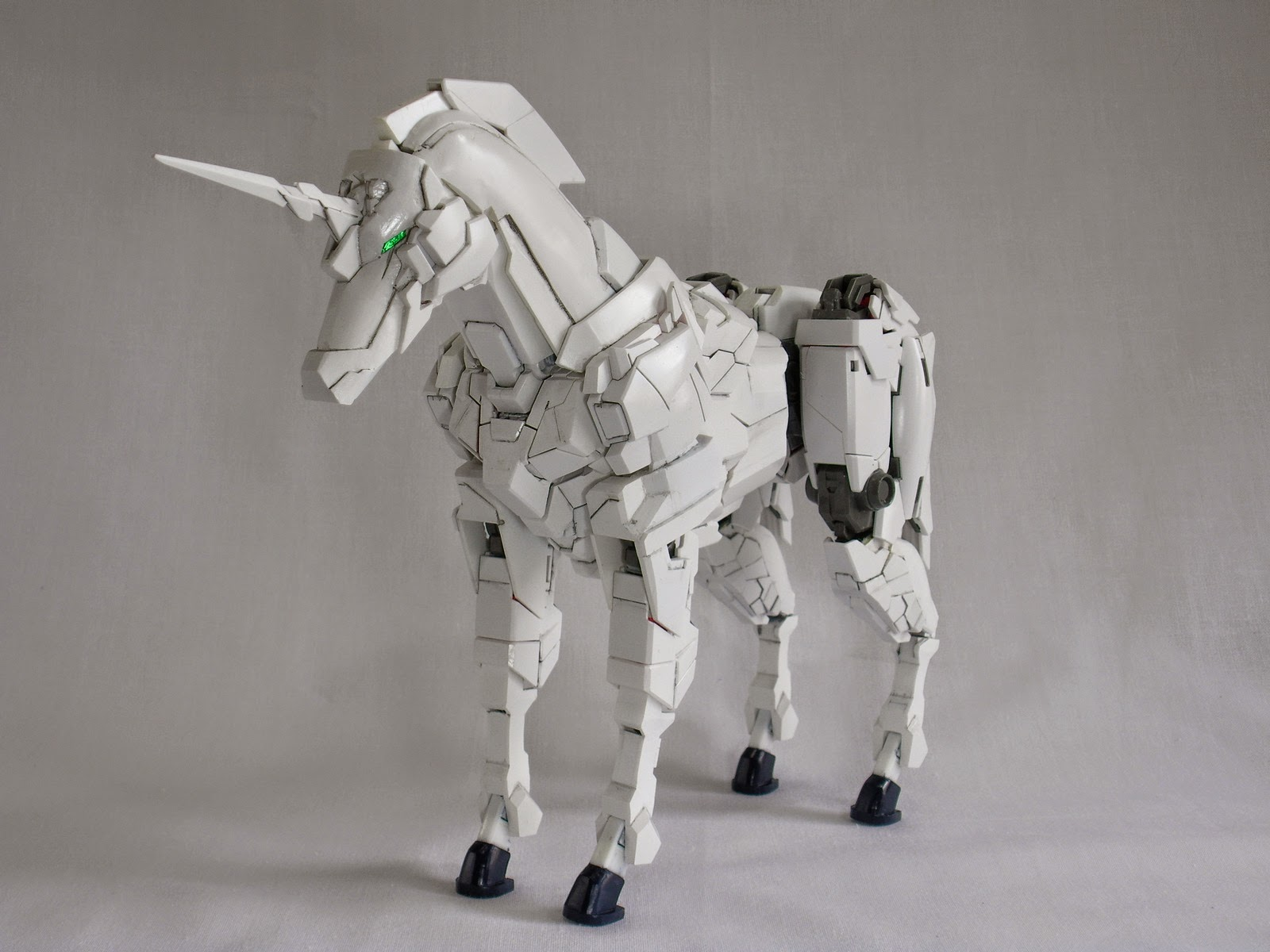 custom build unicorn gundam horse mode gundam kits