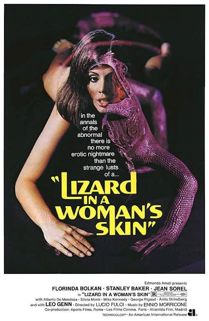 Lizard in a Woman's Skin poster