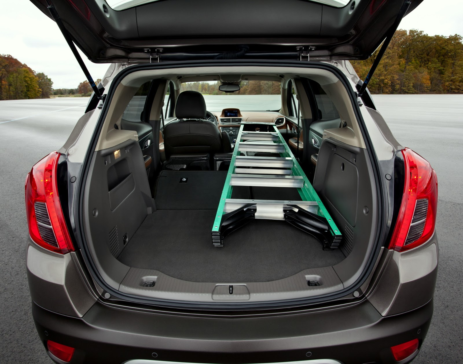 Buick introduces encore small luxury crossover