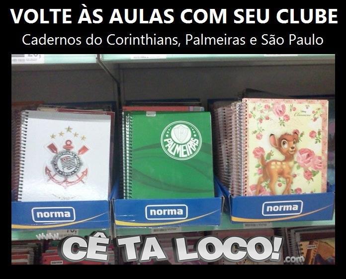 Caderno São Paulo FC Bambi