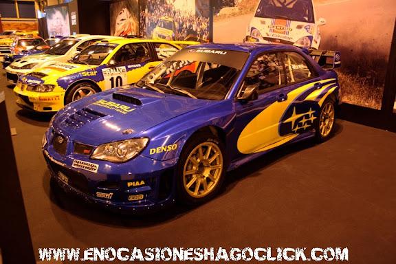 Subaru Impreza WRC Madrid Motor Days
