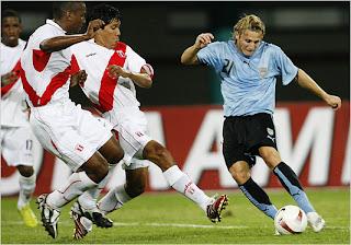 Estadísticas de Uruguay Vs Perú América