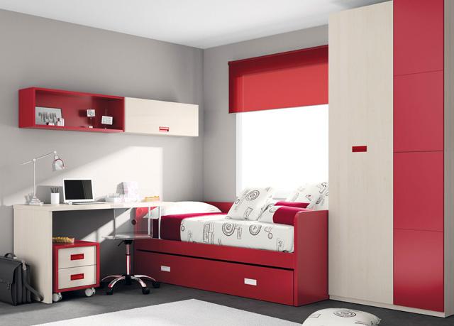 Camas nido dormitorios juveniles dormitorios infantiles for Camas nido infantiles