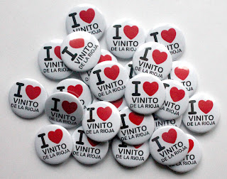 Chapas personalizadas I love vinito de la Rioja