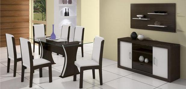 sala+ +2 Móveis para Decorar uma Sala de Jantar Completa