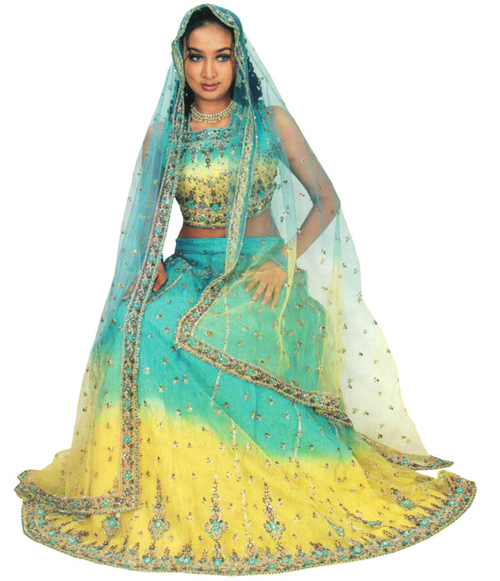 All Fun Stuff: Eye Catching Ghagra Choli for Girls