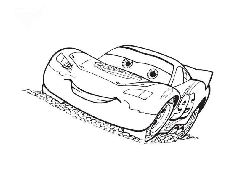 Coloring Pages For Disney Cars : Disney cars coloring pages learn to