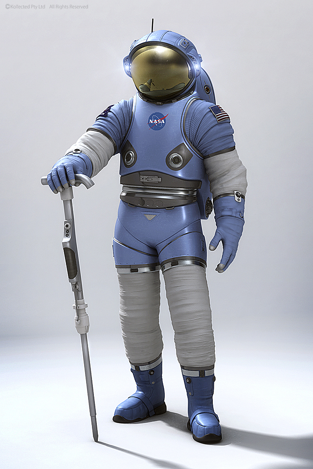 astronaut suit on mars-#5