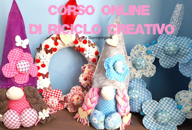 Iscriviti al corso online di riciclo creativo e crea con me gnomette colorate e ghirlande!