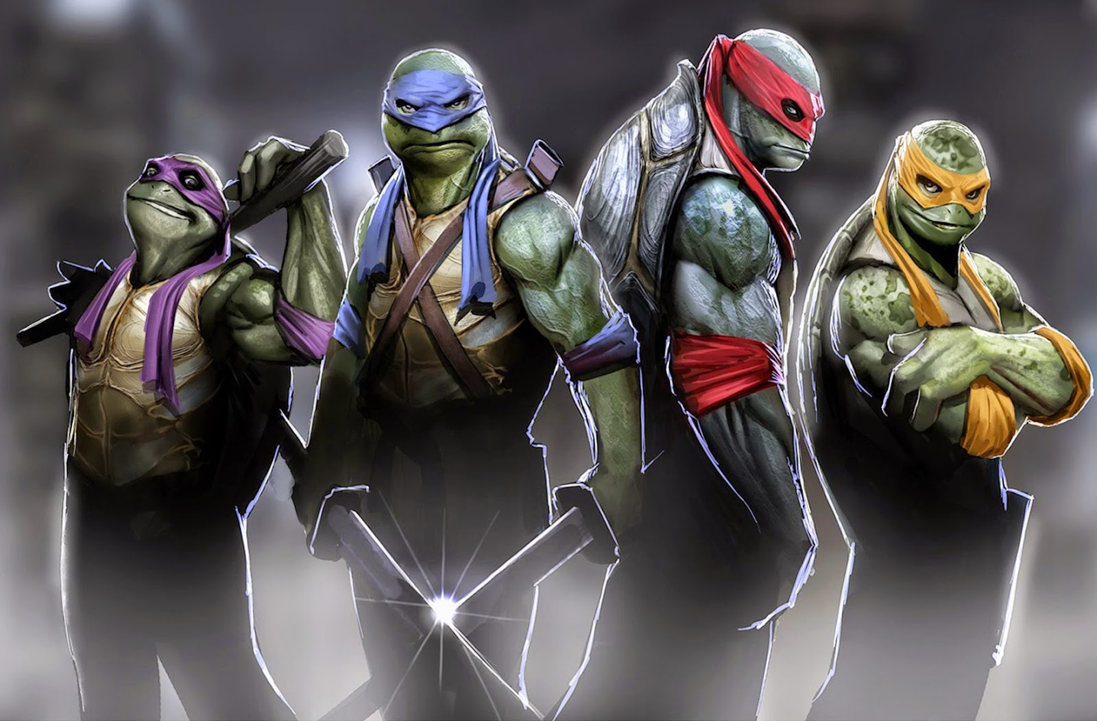 Teenage Mutant Ninja Turtles 2014 3D
