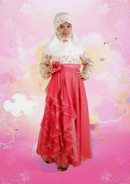 Baju Muslim Anak Frozen