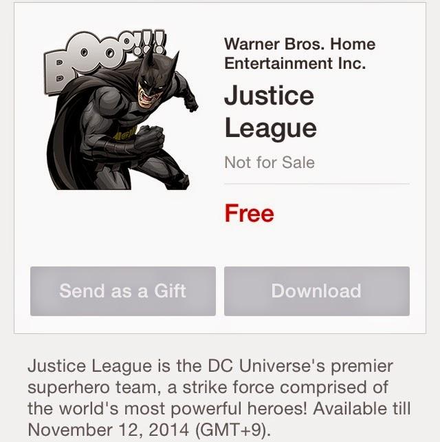 Justice Leage stickers