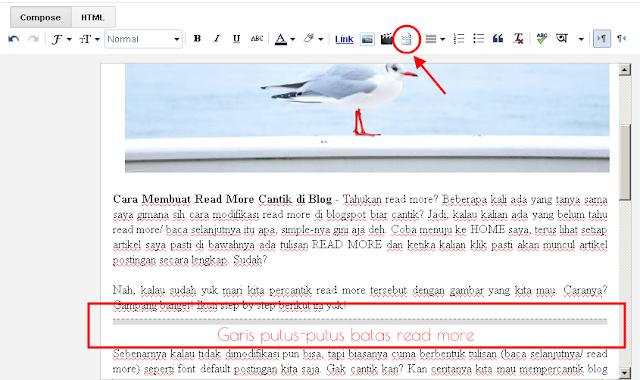 Cara Membuat Read More Cantik di Blog