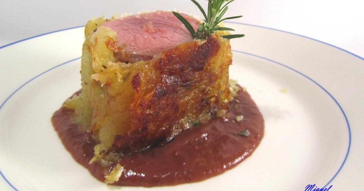 Les receptes del miquel solomillo de cerdo con crujiente - Salsa de oporto para solomillo ...