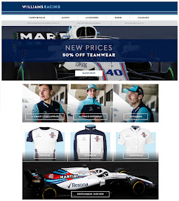 WILLIAMS RACING shop