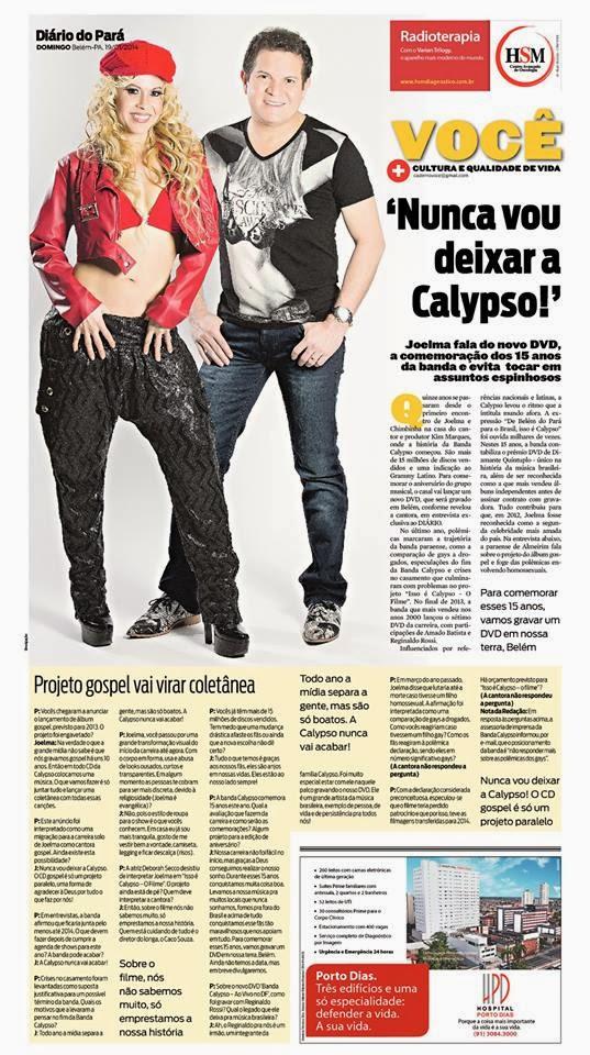 Entrevista ao Diário do Pará