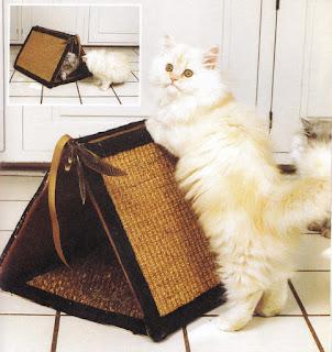 Мастерим лежанки для кошек и собак: мастер -классы и идеи