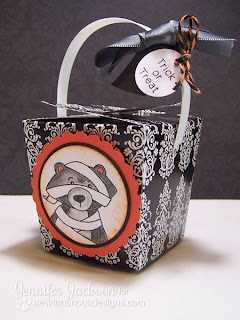 Mummy Bear Hallowen Treat Box using Boo Crew stamp set