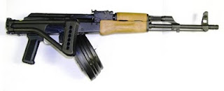 ak 47 bulgarian assault rifle