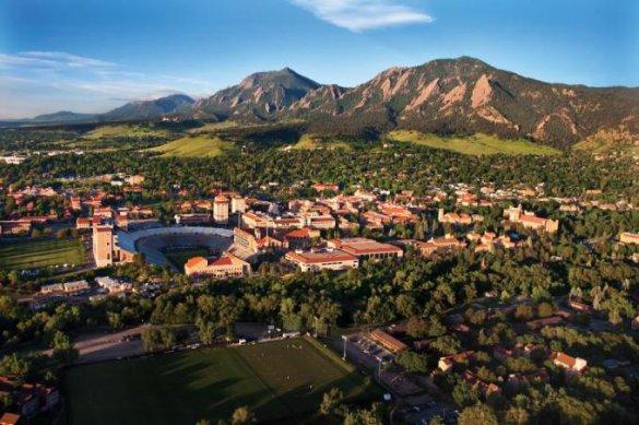 Colorado boulder campus view source university of colorado boulder