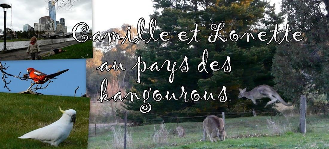 Camille et Lonette au pays des kangourous