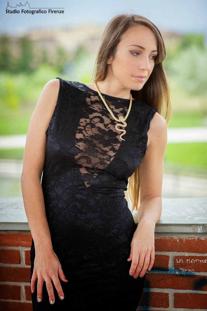 little black dress pizzo