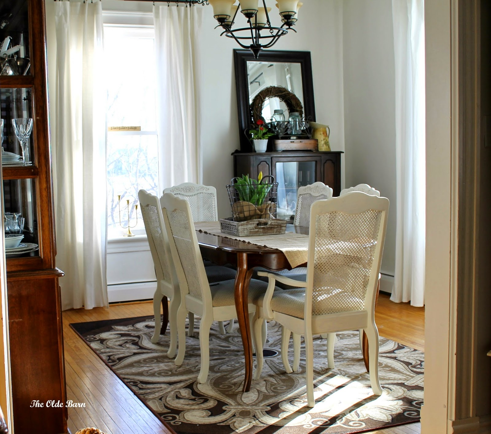 When I Initially Got This Dining Room Set Knew It Needed A Change Bought Off Of Kijiji