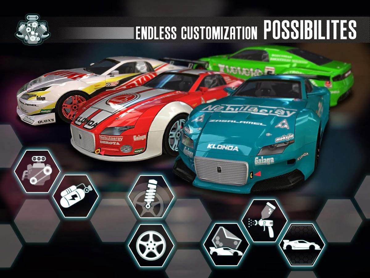 Ridge Racer Slipstream MOD APK + DATA (Unlimited Money) Full Version