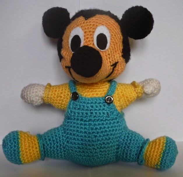 Mis Blanditos Amigurumis: Mickey Mouse Amigurumi