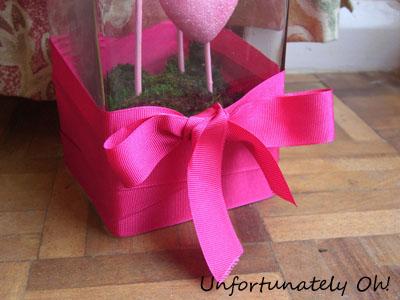 Unfortunately Oh Valentines Heart Vase