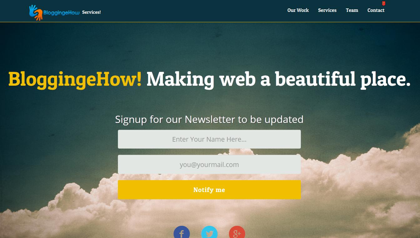blogigngehow service