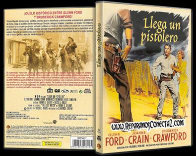 Llega un Pistolero [1956] Caratula - Cine clásico