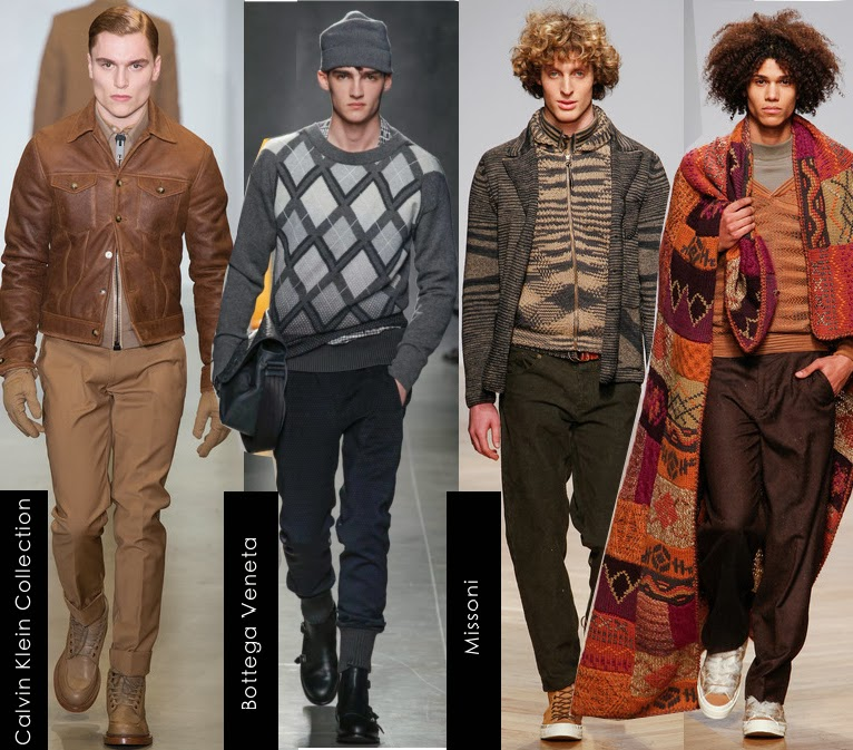calvin klein and missoni mens fall 2014