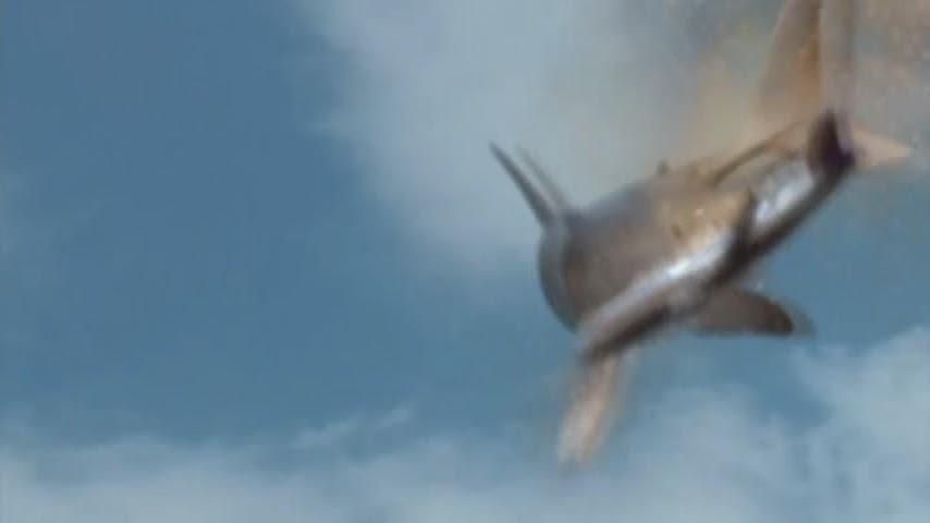 Shark attacks plane - photo#15