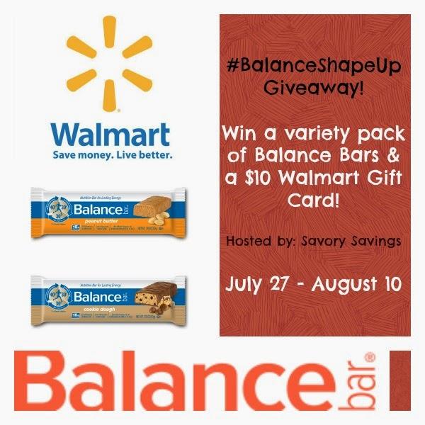 BalanceShapeUp + Walmart Gift Card Giveaway