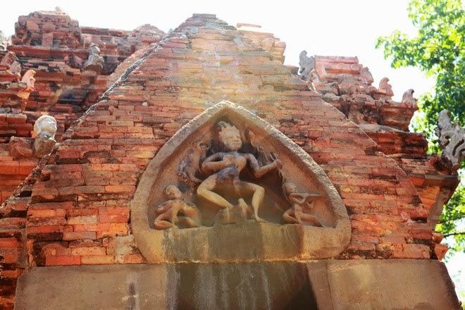 Hình ảnh tháp Bà Ponagar Nha Trang