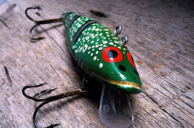 Hand Carved Lures - Ben Delaney