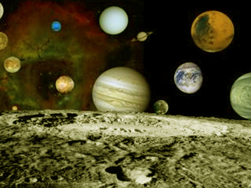 Space Wallpaper 2012