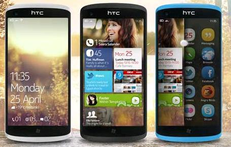 Two Smartphone Windows Phone 8 from HTC, Rio and Accord