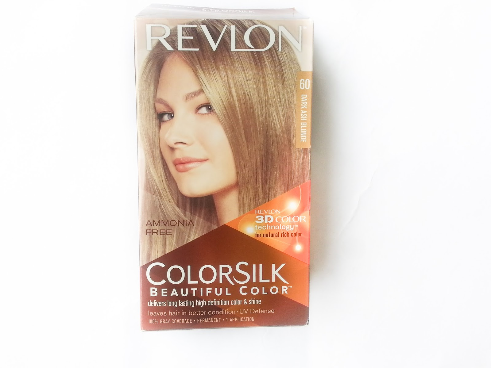 Sehar Ahmed Revlon Color Silk 60 Dark Ash Blondebeauty Review