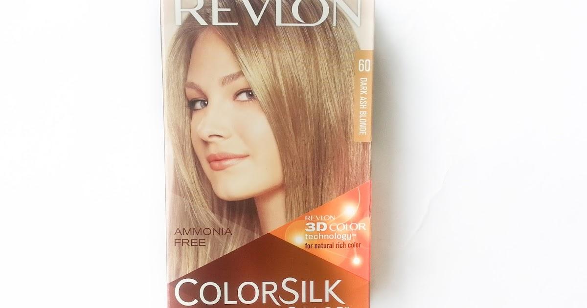 Sehar Ahmed Revlon Color Silk 60 Dark Ash Blondebeauty Review